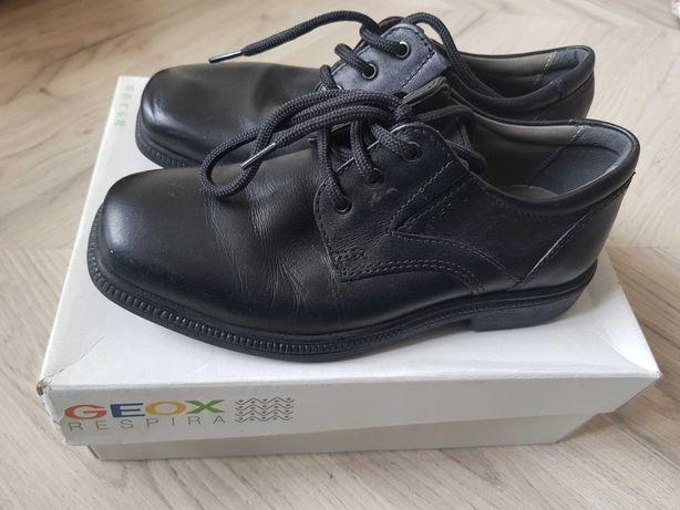 Туфли GEOX детские классические на мальчика 32 размер
