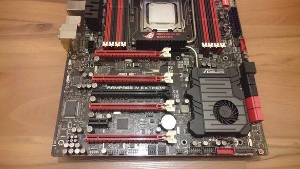 ASUS RAMPAGE IV Extreme LGA2011 + Intel Core i7-4930K + 16GB DDR3