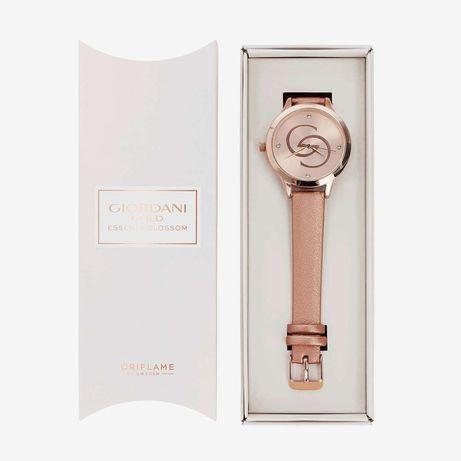 Юбилеен часовник Giordani Gold и колие и Малка дамска чанта Plisse