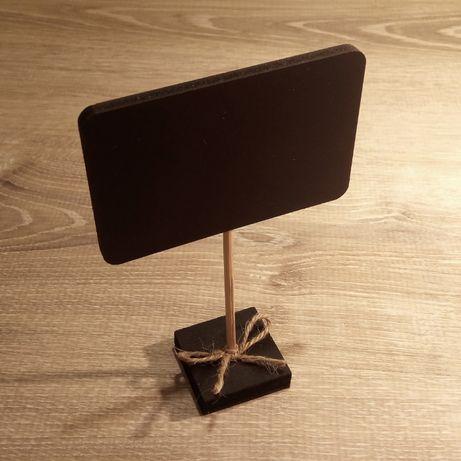 Ценник меловый, размером с визитку