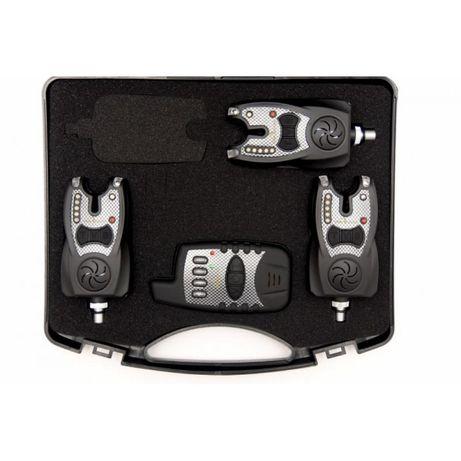 Шарански сигнализатори CarpFocus CarbonDesign + подарък 3 обтегача