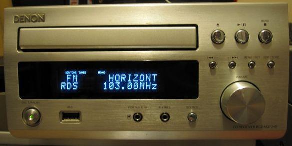 Компактно бижу Denon RCD-M37DAB (38&39) Hi-Fi CD-Receiver (Ресийвър)