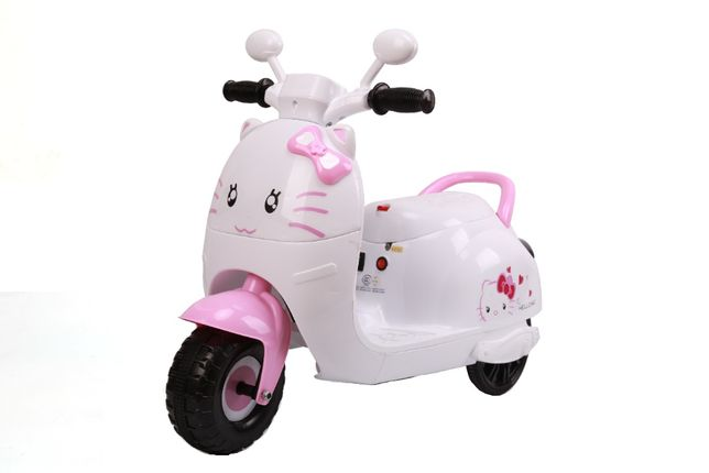 Tricicleta electrica pentru copii BJK6588 30W 6V STANDARD #Roz