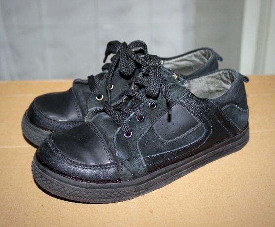 Ботинки туфли кожаные 33 размер