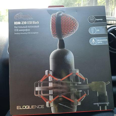 Настольный потоковый USB микрофон