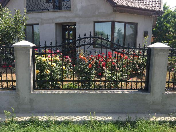 Fier forjat garduri  / balustrada inox sau fier