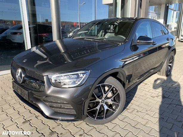 Mercedes-Benz GLC Coupe Linie AMG / 197 CP / Asistent unghi mort / Burmester®