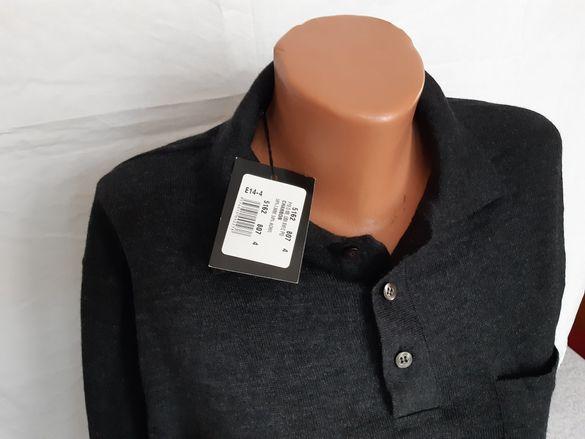 50% мерино мъжки пуловер