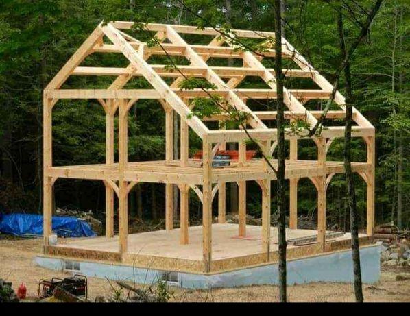 Vand case lemn tratat