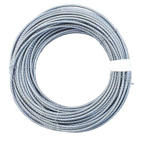 Cablu troliu otel 6x25 14mm inima metalica batut 80m/rola