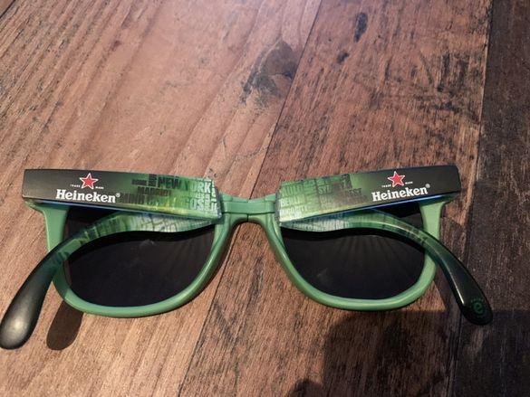 Рекламни сгъваеми очила на Хейнекен/Heineken