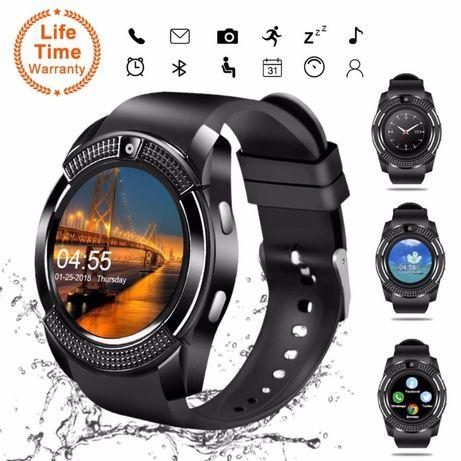 Смарт часовник Smart watch V8 с тъч, блутут, камера и SIM карта