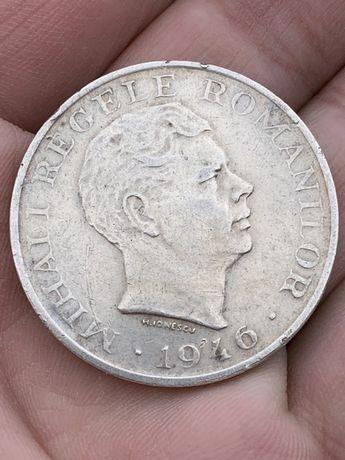 Moneda argint Regele Mihai 100000 lei/1946 - Originala