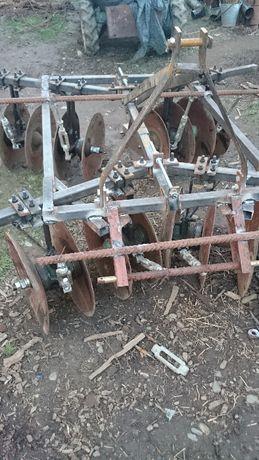 Брана плуг фреза кабина трактор