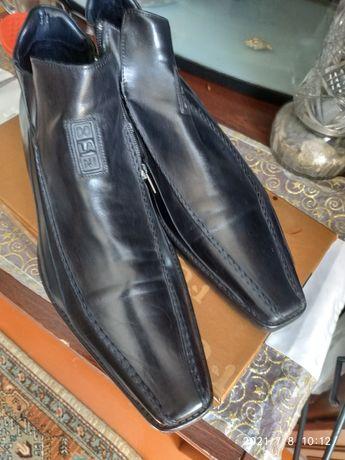 Итальянская обувь на 42 размер, Версаче и зимние сапоги , натуральная