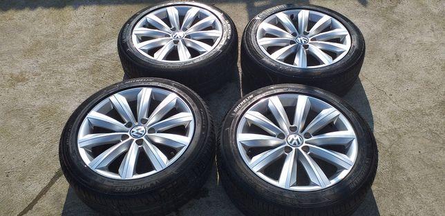 "Jante Aluminiu Originale Volkswagen 17"""