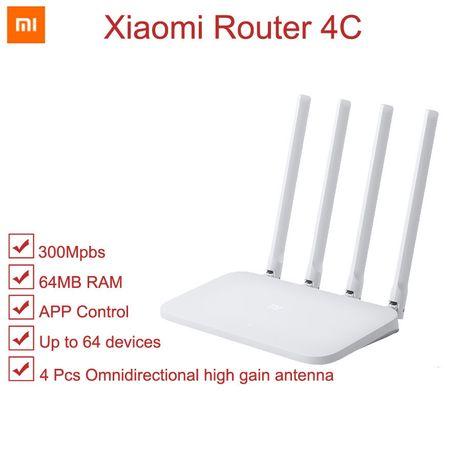 Wi-Fi Роутер Xiaomi Mi 4C, 300 Мбит/с (Новый, запечатанный)
