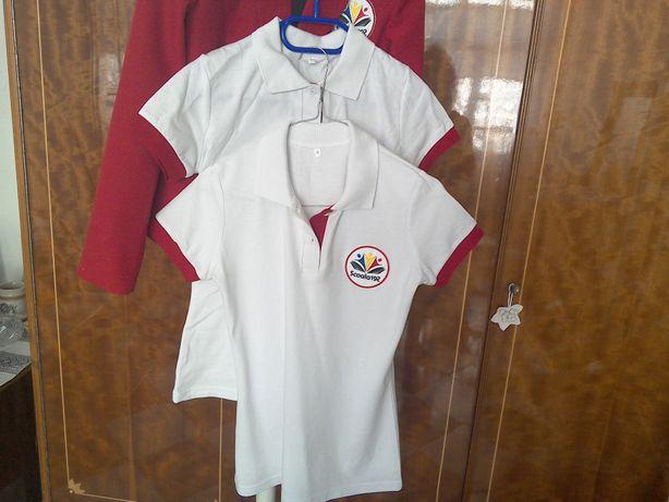 Uniformă școlară, nouă, fete/băieți - tricouri și sacou, școala 192