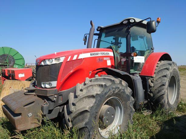 Tractor Massey Ferguson 8660 an fabric.2012