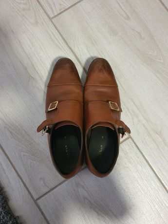 Pantofi maro barbati Zara