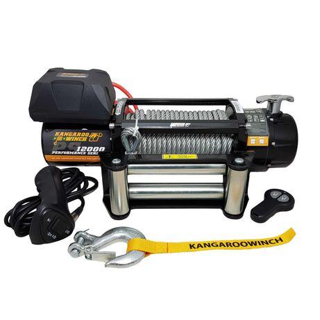 Лебедка за пътна помощ KangarooWinch K12000PS 5443 kg