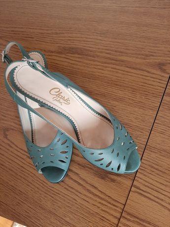 Sandale dama piele mărimea 24,5 cm
