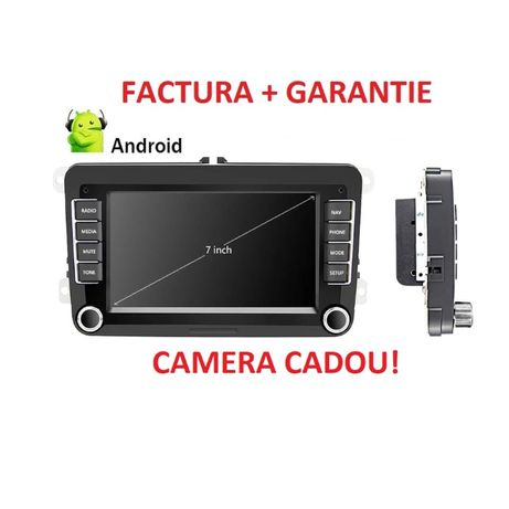 Navigatie Android + Camera! Golf Passat Tiguan Sharan Caddy Eos Pollo