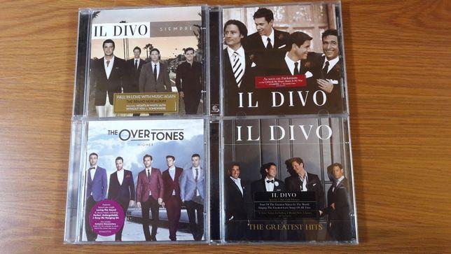 Cd-uri originale voci masculine , Il Divo , The Overtones