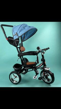 Распродажа! Скидки трехколесный велосипед-коляска прогулочный с ручкой