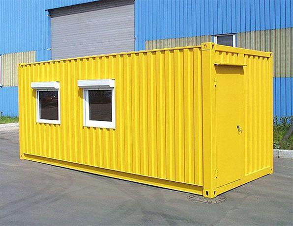 Жилой контейнер, утепленный контейнер, модульное здания, контейнер