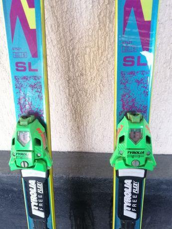 Лыжи,  палки лыжные, сумка