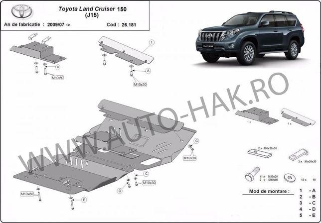 Scut motor metalic Toyota Land Cruiser J150/J155 2009-prezent
