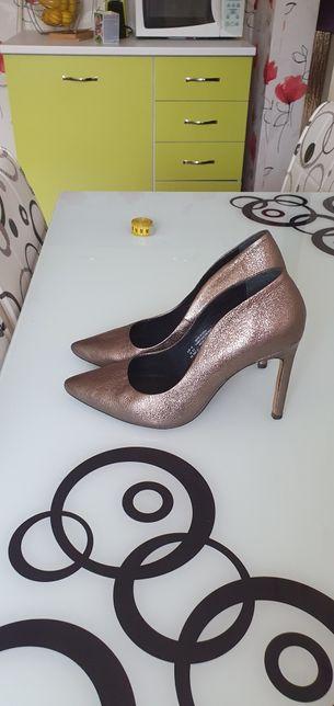 Pantofi escarpen piele