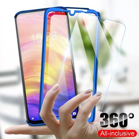 Кейс 360° градуса мат за Samsung Galaxy M10 A10 A40 A50 A70 A7 A8 A9