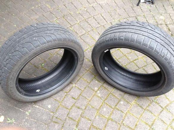 Pirelli Sottozero 17 Run Flat dot:4014 , 8мм и 4бр. Alutec дж. с гуми
