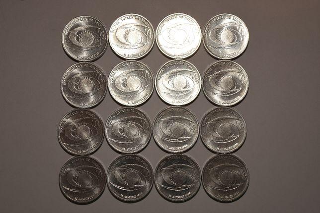 Monede - Eclipsa totală de Soare din 11 august 1999