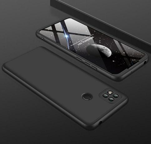 Кейс 360° Градуса Мат за Xiaomi Redmi 9C / 9C NFC + стъклен протектор