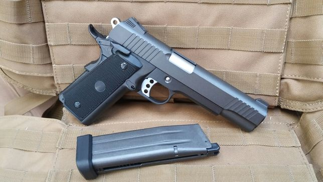 PRET SPECIAL Colt 1911 full metal recul NOU pistol airsoft putere Mare