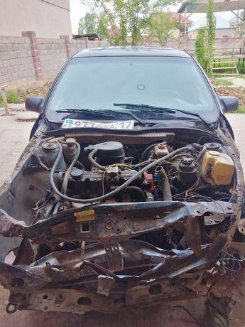 Машина в аварийном состояние