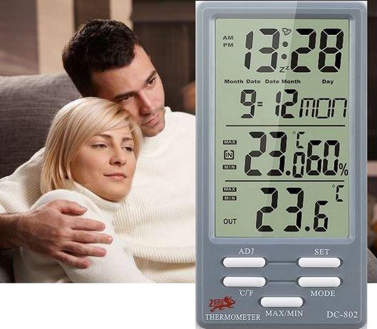 Метеостанция для дома - гигрометр/термометр. Гарантия 1 год + подарок