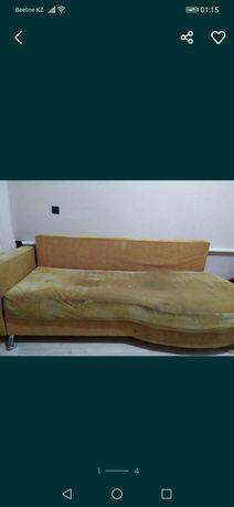Продам диван на кск, б/у в хор сост