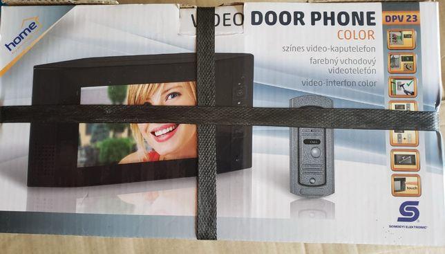 Reducere! Set videointerfon de poarta DPV 23 cu fir