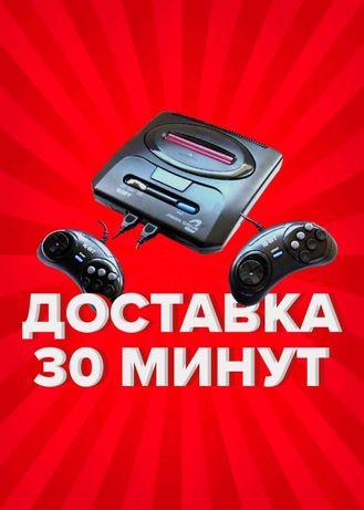 Игровая приставка Sega Mega Drive 2 16 bit 500 игр Доставка Шымкент