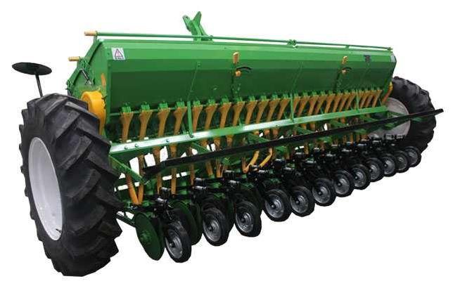 24 рядная двухдисковая зерно-туко-травяная сеялка BTM-24-2-150