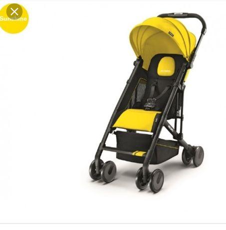 Бебешка количка Рекаро Recaro жълта