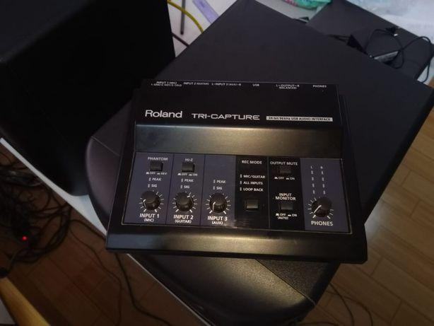 звуковой интерфейс Roland TRI-CAPTURE
