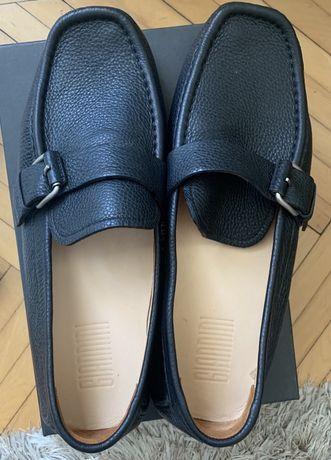 Mocasini negri 42 pantofi musette noi nepurtati