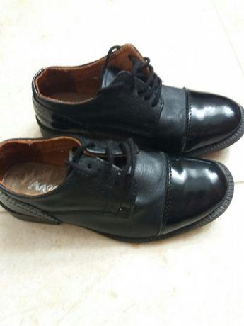 Pantofi piele, copii măr. 29