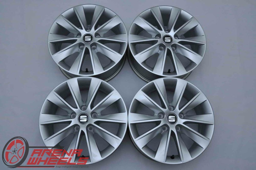 Jante 16 inch Originale Seat Leon 3 5F R16 Bucuresti - imagine 1