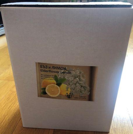 ПРОМО 5л Сок от цвят бъз и лимон! Без разреждан